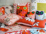 Handmade To Measure owls and cushions