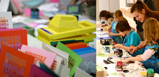 Gocco workshops at Multiplied art fair