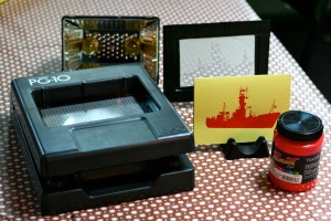 PG-11 Gocco and screen printing kit