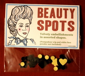 Georgian lady with beauty spot