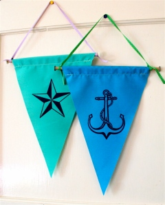 star & anchor flags