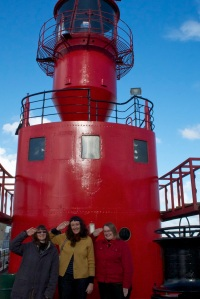 Seaside Sisters on-board light ship LV21