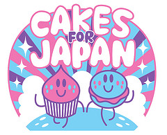 Cakes for Japan logo
