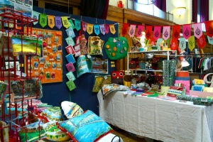 Eco Design Fair - Seaside Sisters stall