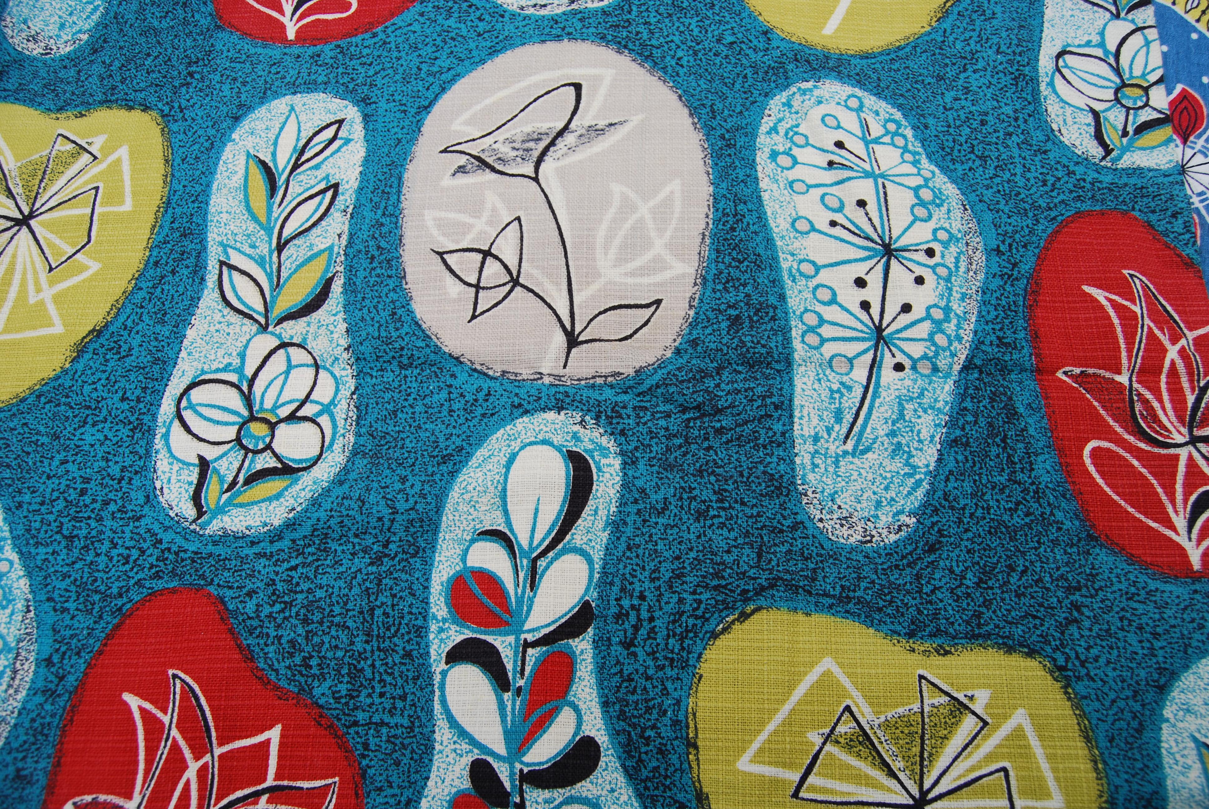 Vintage Inspired Fabric Printing Seaside Sisters