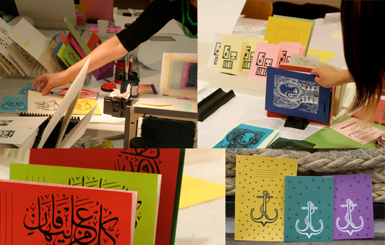 Screen printing with Print Gocco