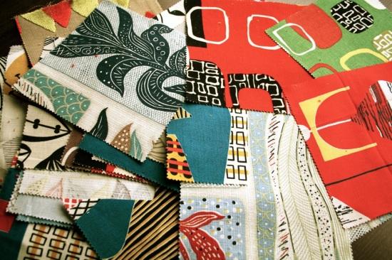 Sanderson's 50s fabrics range