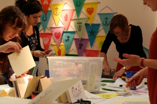 Gocco printing workshop